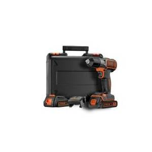 Black & Decker ASD184KB, Boremaskine, inkl. kuffert og batteri