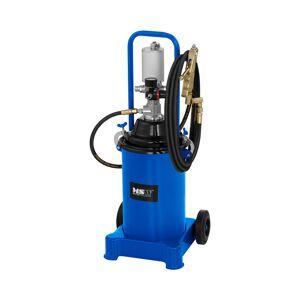 MSW Fedtsprøjte pneumatisk - 12 liter - med hjul - 300-400 bar pumpetryk