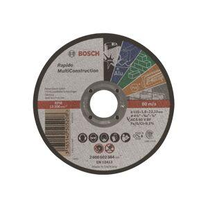 Bosch Katkaisulaikka, suora, Rapido Multi Construction ACS 60 V BF, 115 mm, 1,0 mm