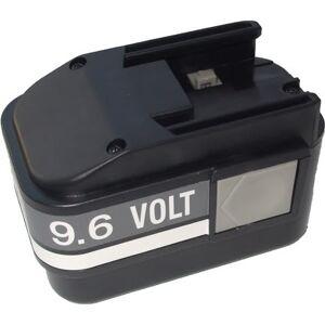 AEG P9.6 Batteri til Verktøy 2.0 Ah 105mm x53mm x67mm