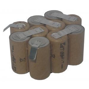 Batteri innsats til BPH-1215 Ryobi 12V 2400mAh NIMH