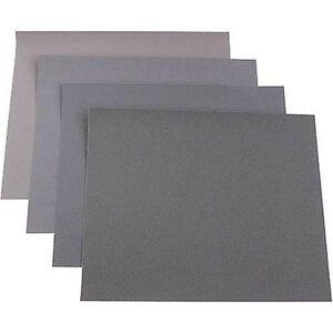 KWB 812329 sandpapir ark sett grit størrelse 180, 240, 400, 600 (L x W) 280 mm x 230 mm 20 PC (er)