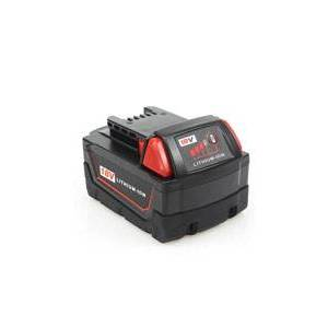 Milwaukee HD18 MS batteri (7500 mAh, Sort)