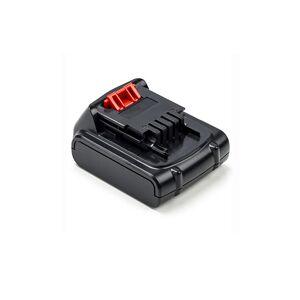 Black & Decker EGBL14 batteri (2000 mAh, Sort)
