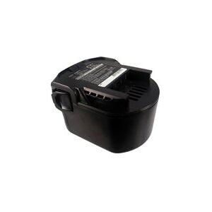 AEG B1220R batteri (3300 mAh, Sort)