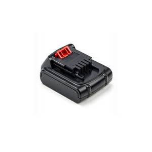 Black & Decker ASL148 batteri (1500 mAh, Sort)