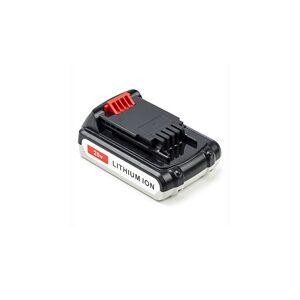 Black & Decker LSTE522 batteri (2000 mAh, Sort)
