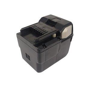 Hitachi DH 36DL batteri (3000 mAh, Sort)
