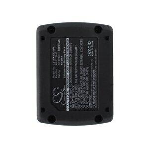 Milwaukee 2450-20 batteri (4000 mAh, Sort)