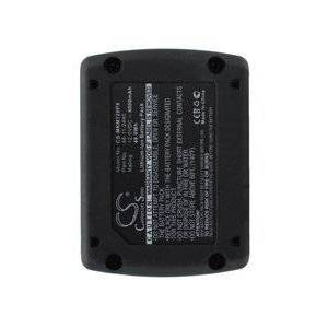 Milwaukee 2471-20 batteri (4000 mAh, Sort)