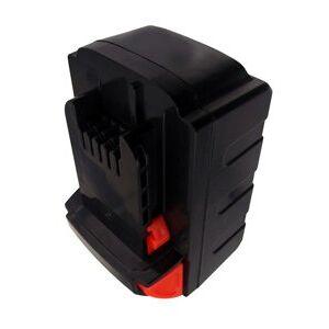 Atlas Copco LokTor H18 batteri (3000 mAh, Sort)