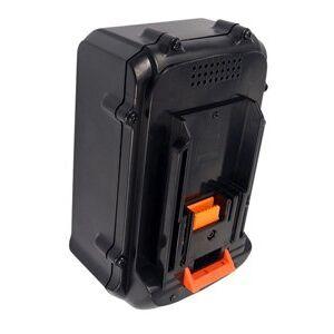 Makita MBC231DRD batteri (4000 mAh, Sort)