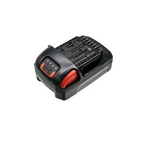 Ingersoll Rand IQV20 batteri (2000 mAh, Sort)