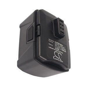 Ryobi R12SD batteri (3000 mAh, Sort)