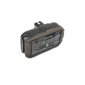 Ryobi P204 batteri (2000 mAh, Sort)
