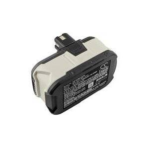Ryobi RAD1801M batteri (3000 mAh, Sort)