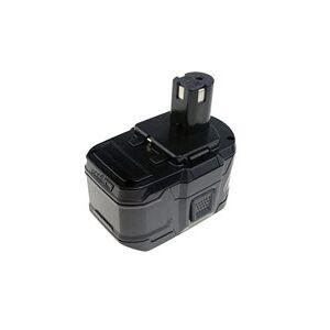 Ryobi P716 batteri (4500 mAh, Sort)