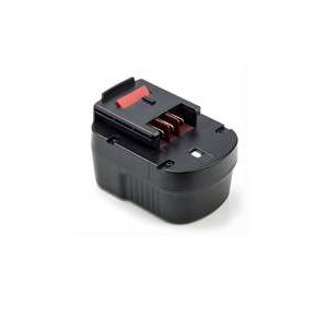 Black & Decker HP126F2 batteri (3000 mAh, Sort)