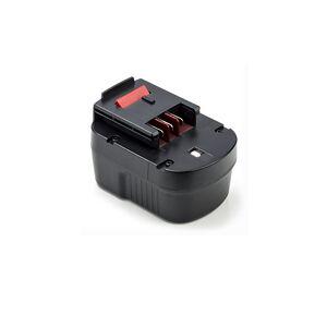 Black & Decker FS1200D batteri (3000 mAh, Sort)