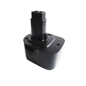 Black & Decker HP131K-2 batteri (3300 mAh, Sort)