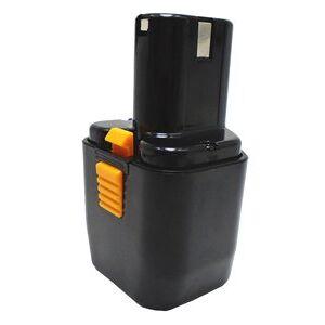 Hitachi P 20DA batteri (1500 mAh, Sort)