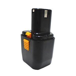 Hitachi 12DVA batteri (2000 mAh, Sort)