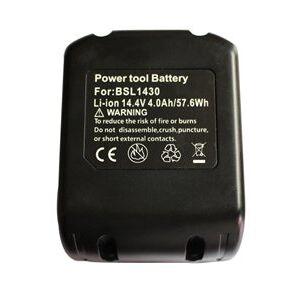 Hitachi WR 14DBAL batteri (4000 mAh, Sort)