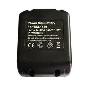 Hitachi UB 18DSL batteri (4000 mAh, Sort)