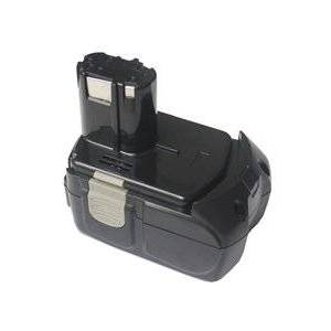 Hitachi G 18DL batteri (5000 mAh, Sort)