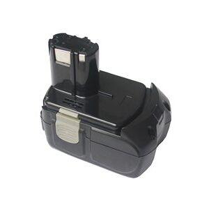 Hitachi DS 18DVB2 batteri (5000 mAh, Sort)