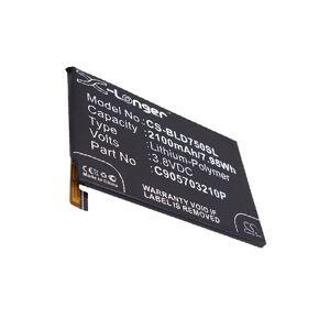Blu Batteri (2100 mAh) passende til Blu D750L