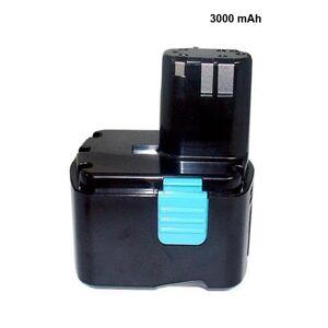 Hitachi Batteri (3000 mAh, Sort) passende til Hitachi RB14DL