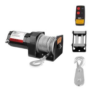 MSW Elektrisk vinsj- 907 kg - 2.000 lbs - Inkl. reim