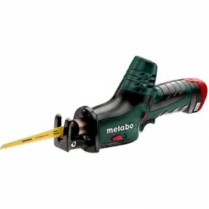 Metabo POWERMAXX ASE Tigersag med 2,0 Ah-batterier og lader