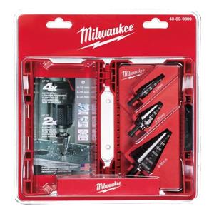 Milwaukee Trinnborsett - 4-12mm - 4-20mm - 6-35mm