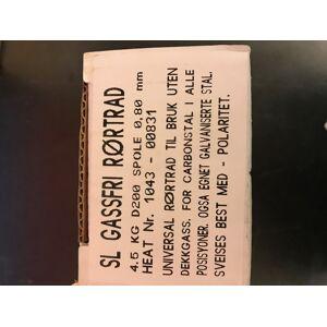 SL Gassfri rørtråd 0.8mm 4.5kg