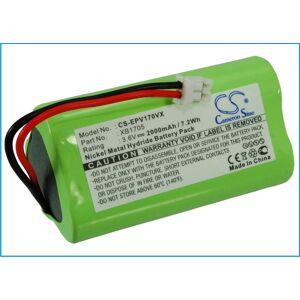 XB1705 Batteri till Verktyg 2000 mAh 51.00 x 27.00 x 27.00mm