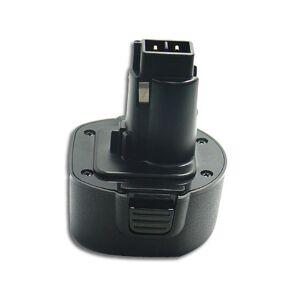 Black & Decker Batteri till Black & Decker 9.6V 2.0Ah NiMH