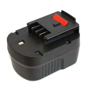 Black and Decker HP126F2K Batteri till Verktyg 2.0 Ah 109.75 x 79.55 x