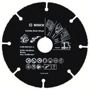 Bosch Kapskiva 125mm Bosch Multi Wheel för TRÄ