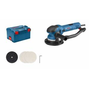 Bosch Excenterslip Get 75-150 Professional I L-Boxx Med Slipnät