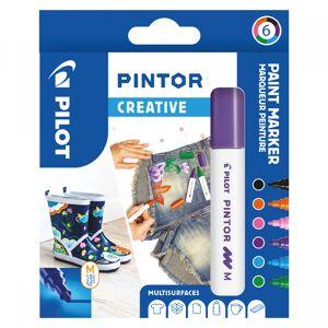 Pilot Pintor Medium 6-Pack Creative