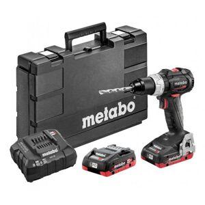 Metabo Bs 18 Lt Bl Se Borrskruvdragare Med Batterier Och Laddare, Batteridrivna Verktyg