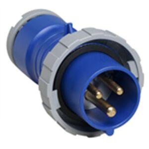 ABB 2CMA166722R1000 Stickpropp IP67, 32 A, skruvklämma 3-polig, blå