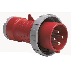 ABB 2CMA166738R1000 Stickpropp IP67, 32 A, skruvklämma 4-polig, röd