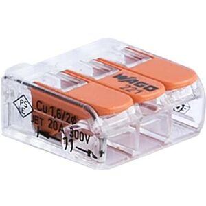Wago 4014409081 Kopplingsklämma 3-pol, 50-pack