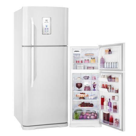 Electrolux Geladeira Refrigerador Frost Free TF51 433 Litros Turbo Freezer e Painel Blue Touch Electrolux 220 volts