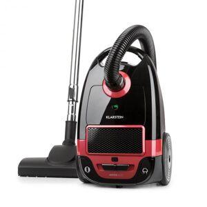 Klarstein Mister Eco golvdammsugare 450W HEPA13 EEC-A++ svart/röd