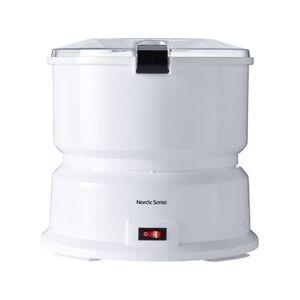 Funktion Nordic Sense Elektrisk Kartoffelskræller - Kapacitet: 1 kg - 85 watt - Hvid