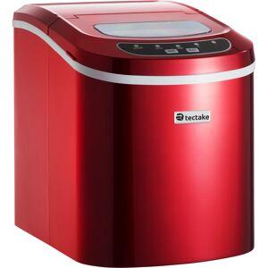 tectake Isterningmaskine - rød